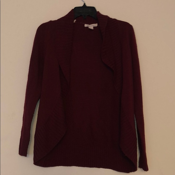 Forever 21 Sweaters - Forever 21 burgundy cardigan size small